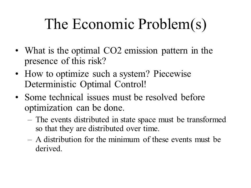 The Economic Problem(s)
