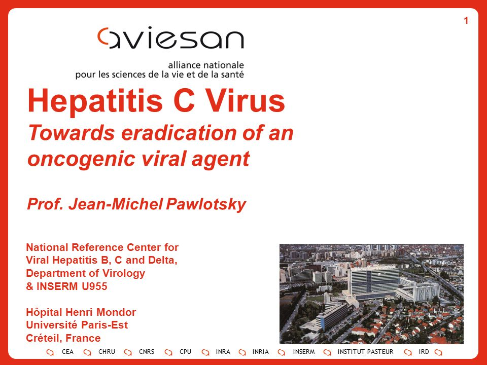 Hepatitis C Virus Towards eradication of an oncogenic viral agent