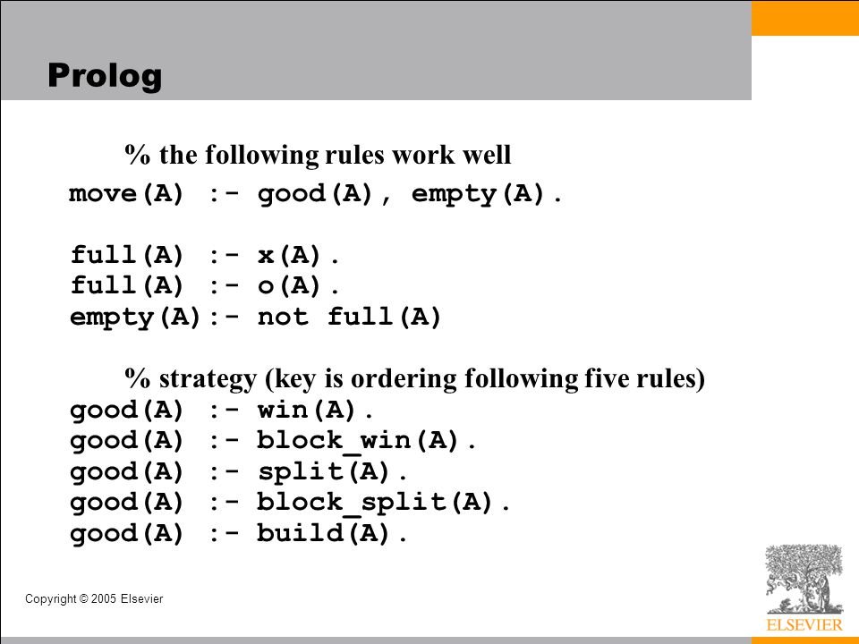 Prolog % the following rules work well