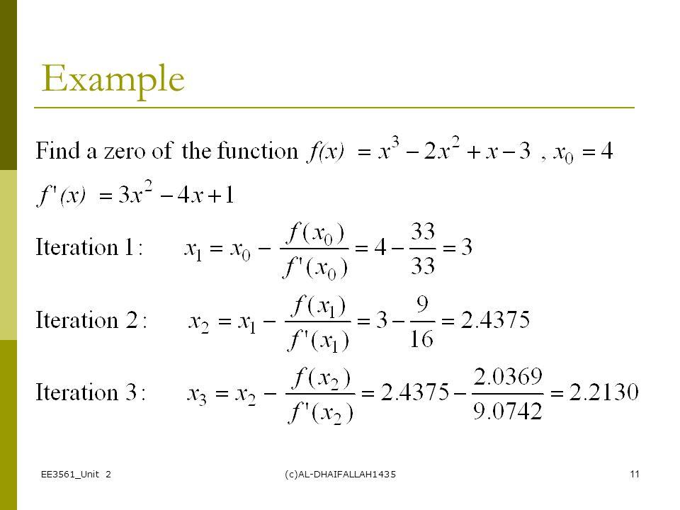 Example EE3561_Unit 2 (c)AL-DHAIFALLAH1435