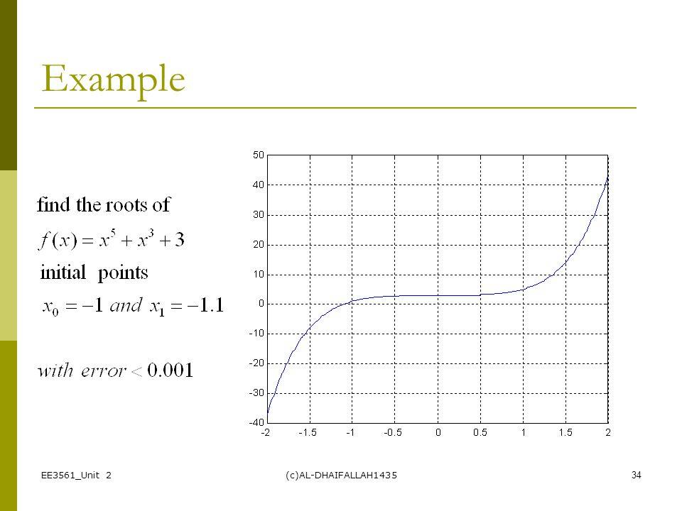 4/10/2017 Example EE3561_Unit 2 (c)AL-DHAIFALLAH1435