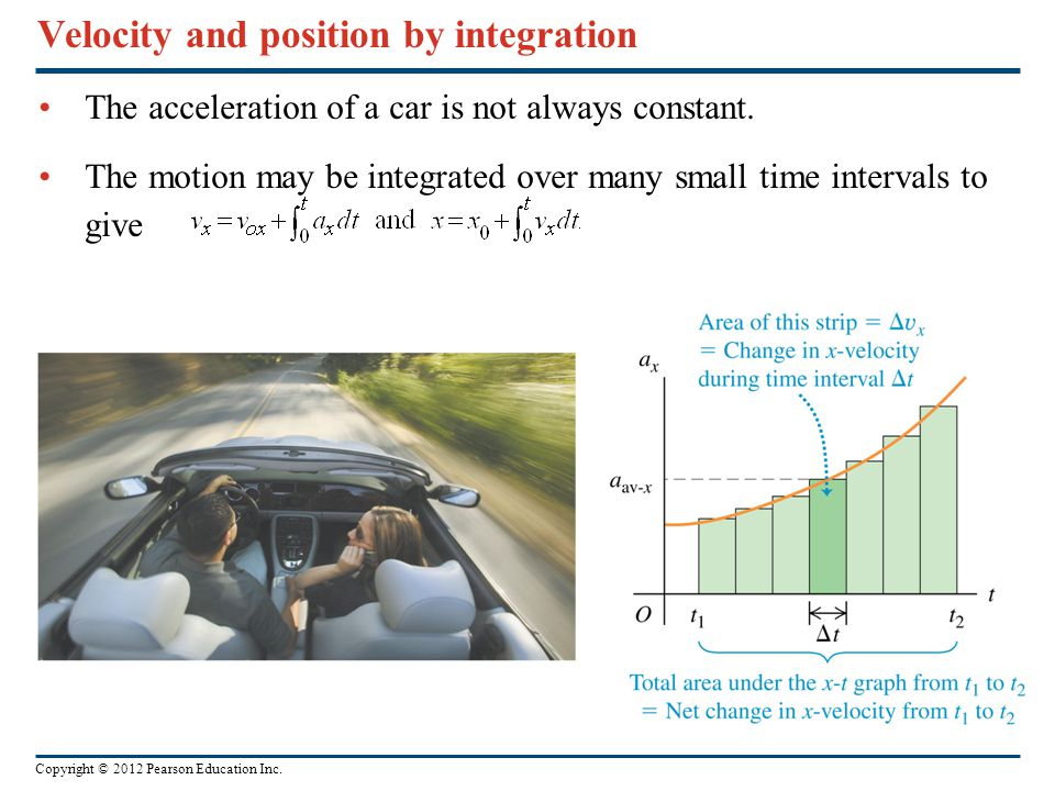 Velocity and position by integration