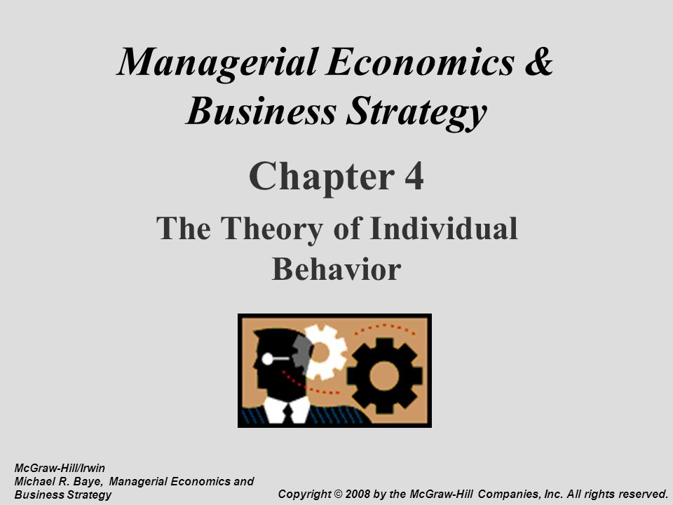 chapter managerial economics applications strategies