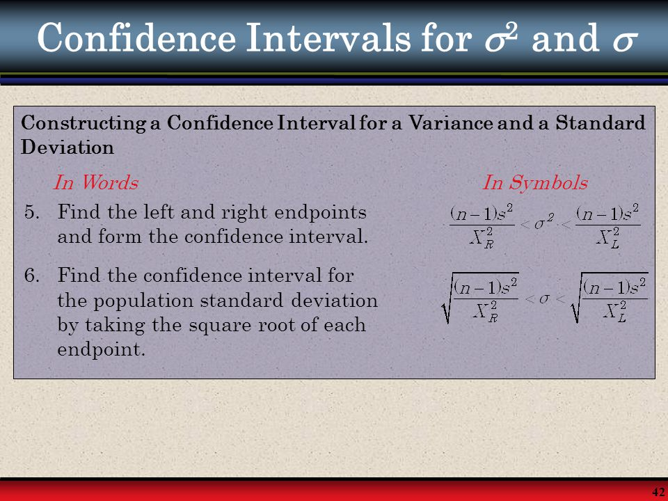how to build a confidence interval