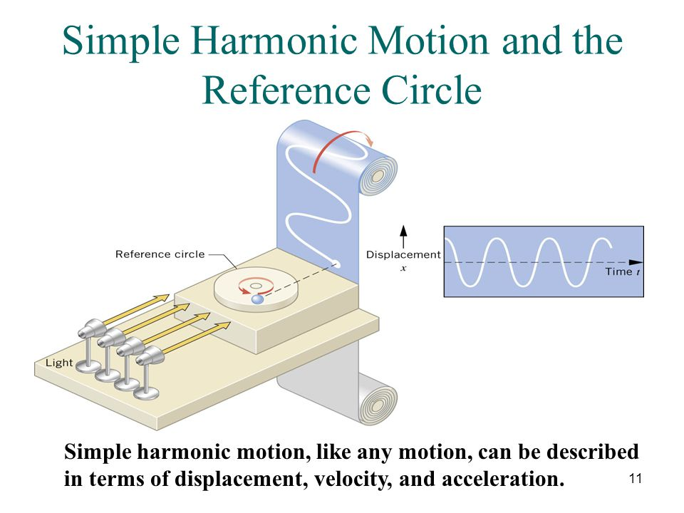 Simple Harmonic Motion and the Reference Circle