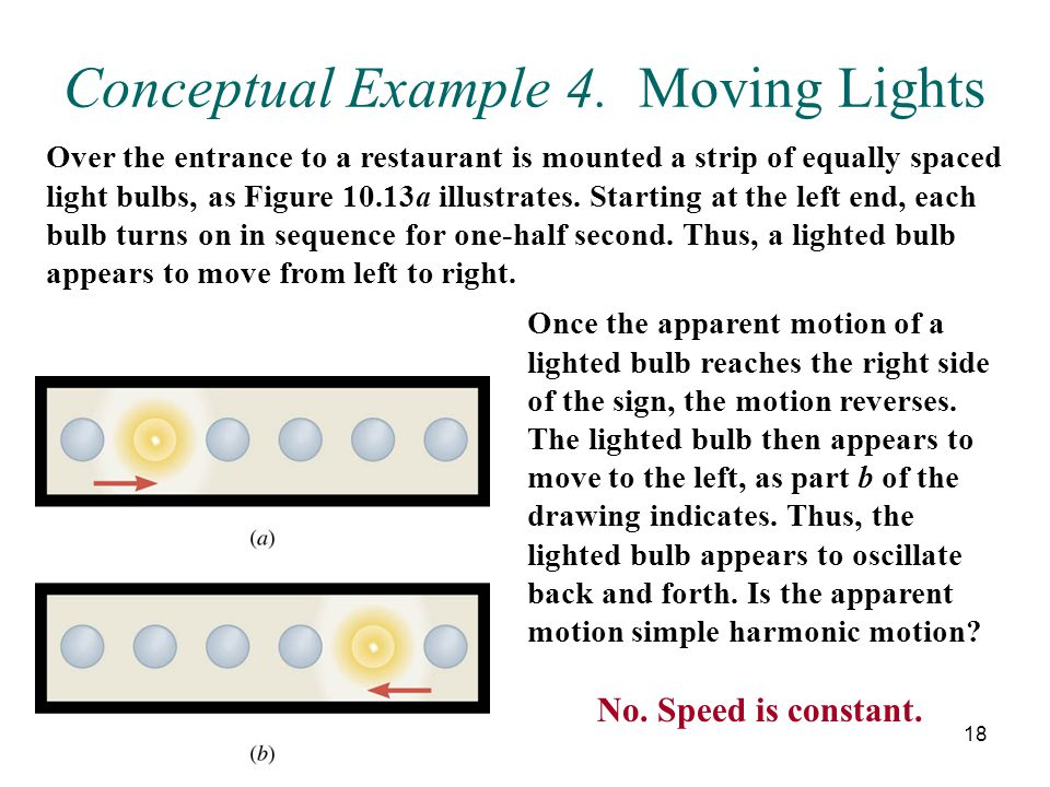 Conceptual Example 4. Moving Lights
