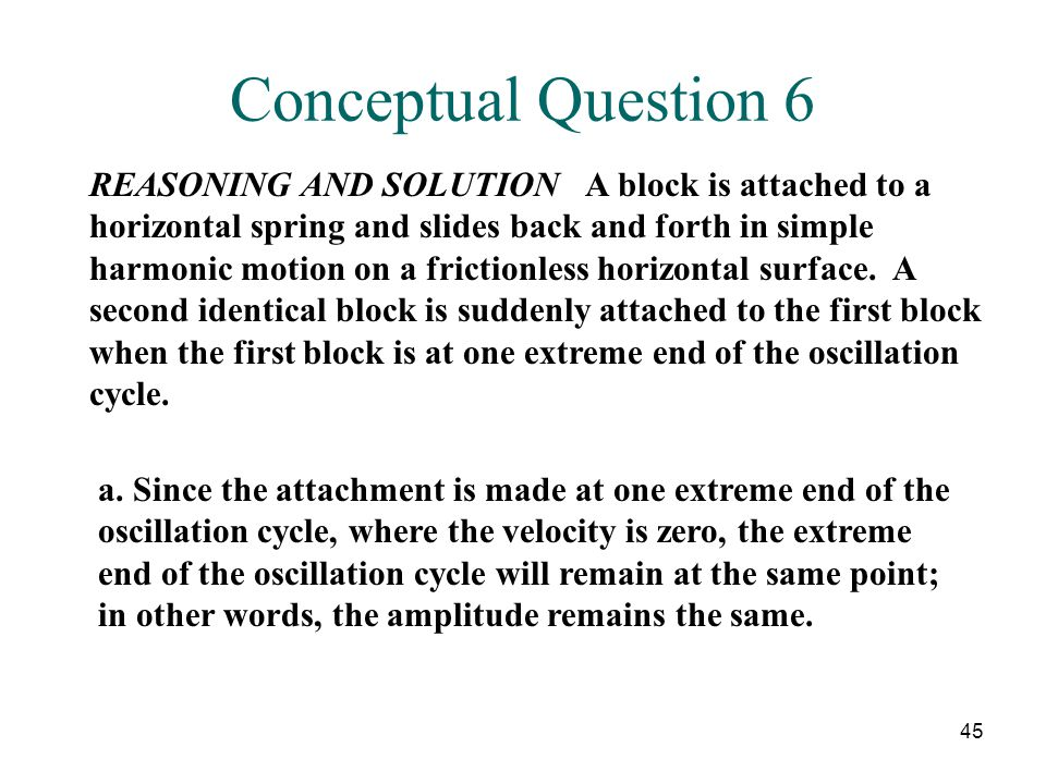 Conceptual Question 6
