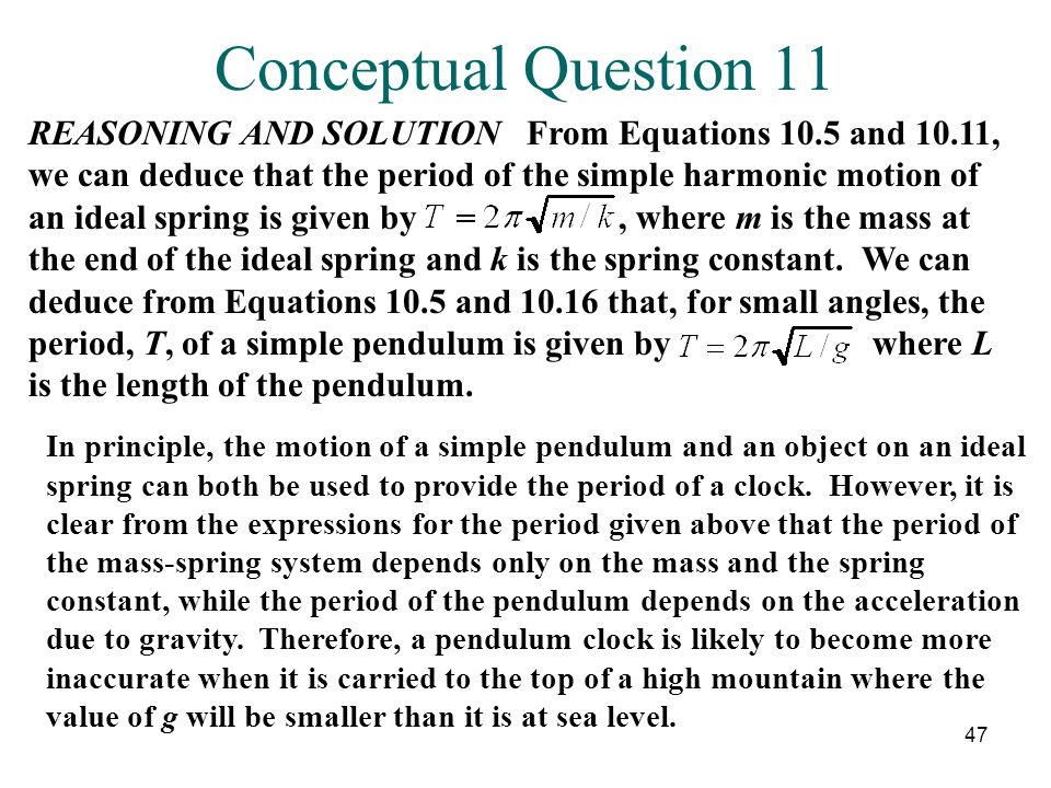 Conceptual Question 11