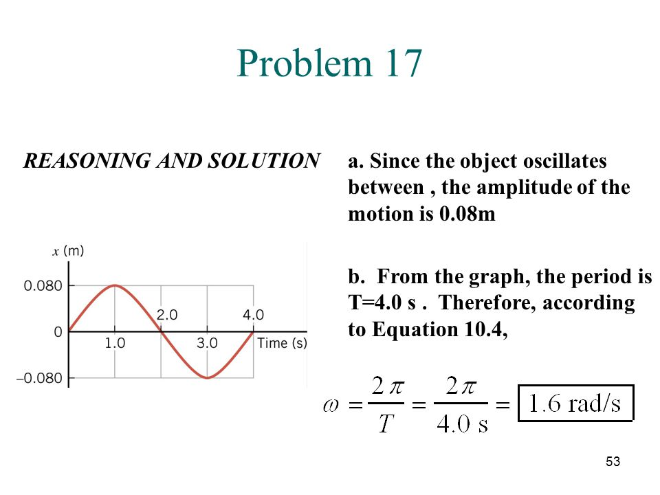 Problem 17 REASONING AND SOLUTION