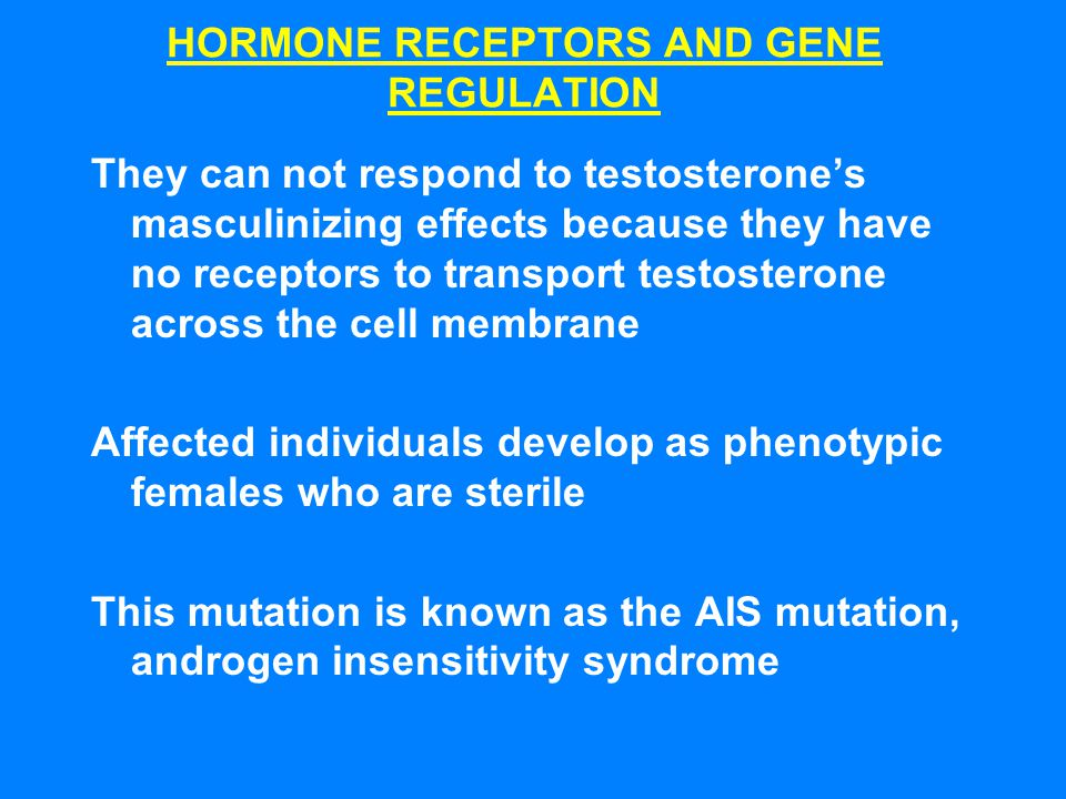 HORMONE RECEPTORS AND GENE REGULATION
