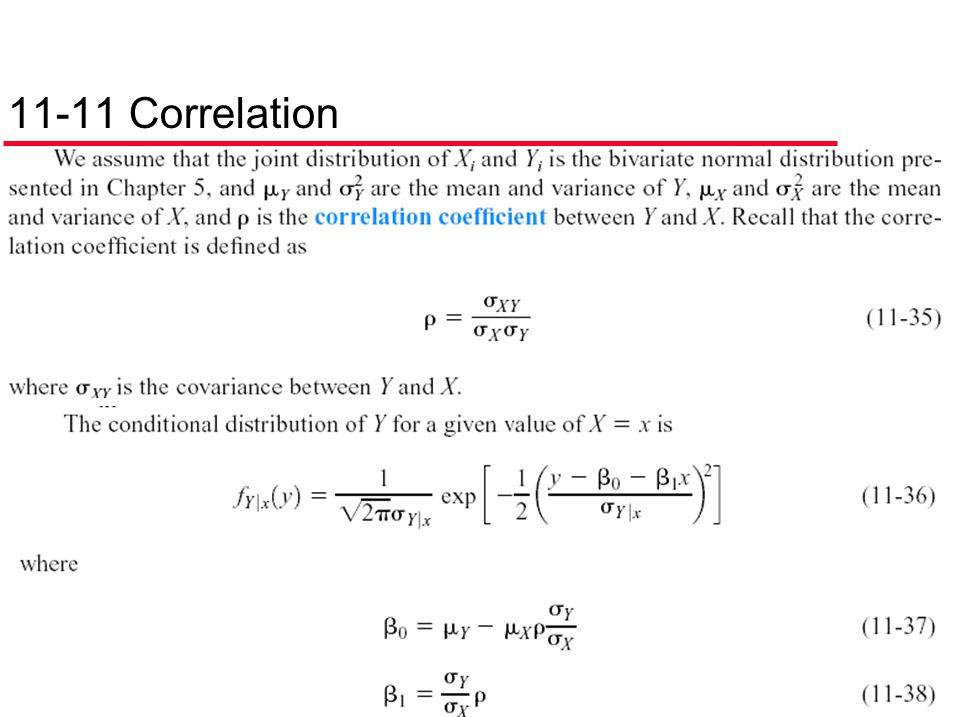 11-11 Correlation