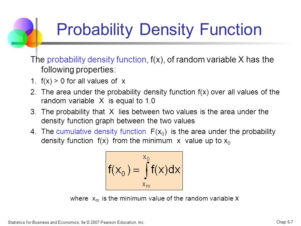 how to find probability density function
