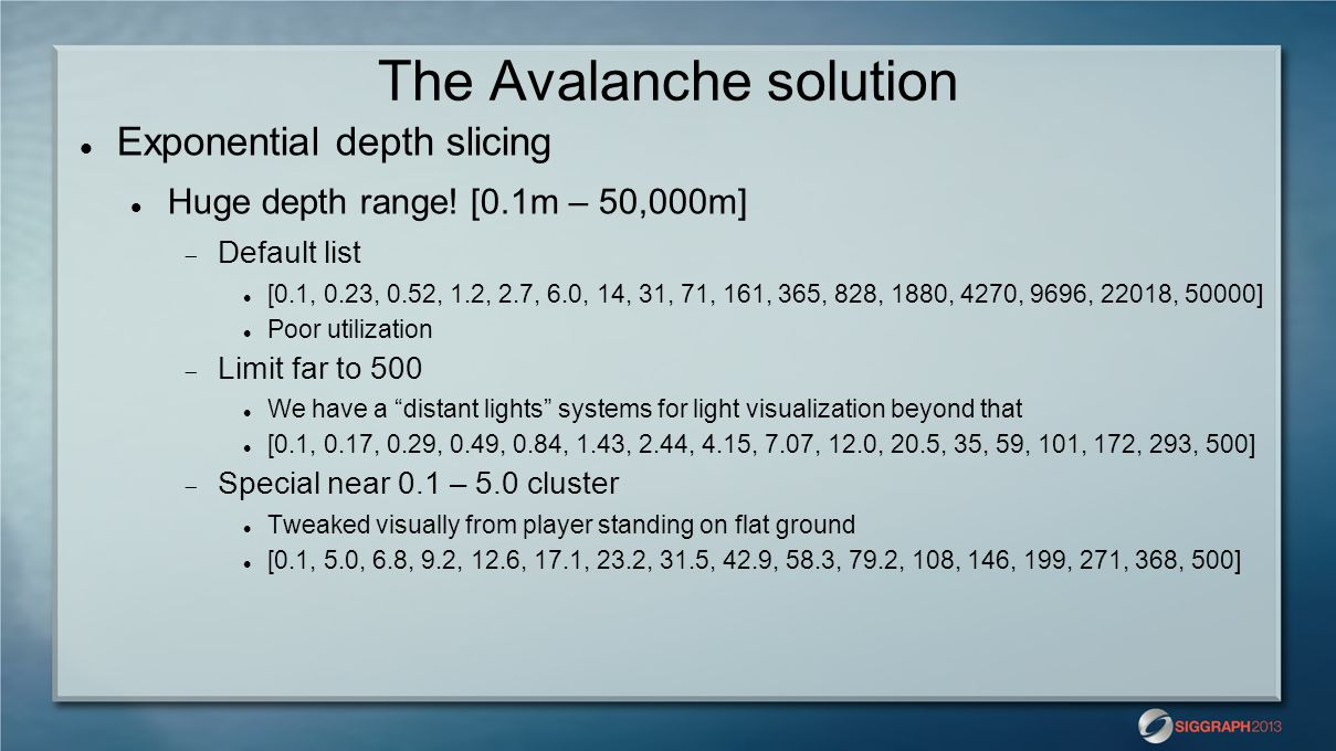 The Avalanche solution