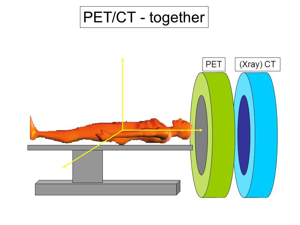 PET/CT - together CT PET (Xray) CT