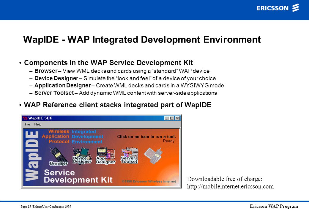 WapIDE - WAP Integrated Development Environment