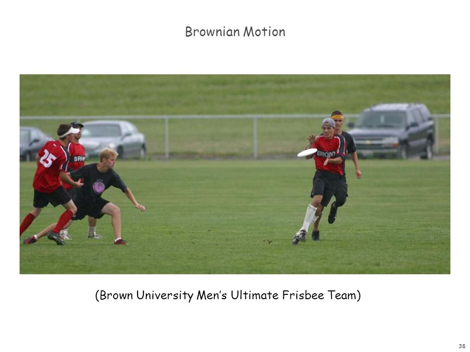 Brownian Motion (Brown University Men's Ultimate Frisbee Team)