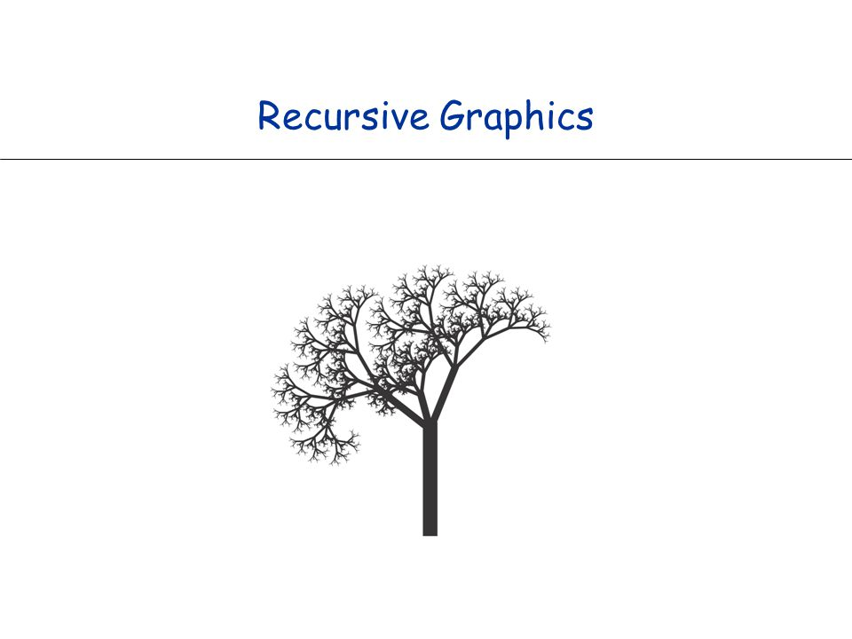 Recursive Graphics