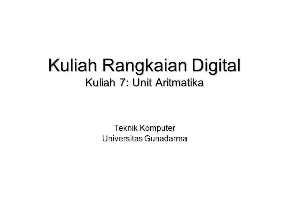 Kuliah rangkaian digital kuliah 7 unit aritmatika ppt video kuliah rangkaian digital kuliah 7 unit aritmatika ccuart Choice Image