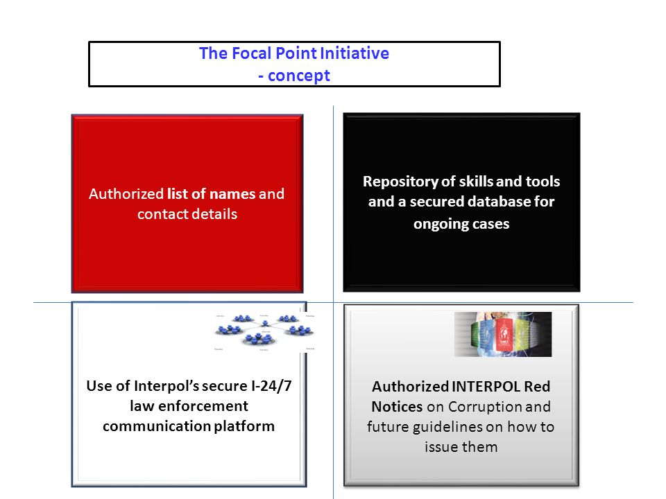 The Focal Point Initiative - concept