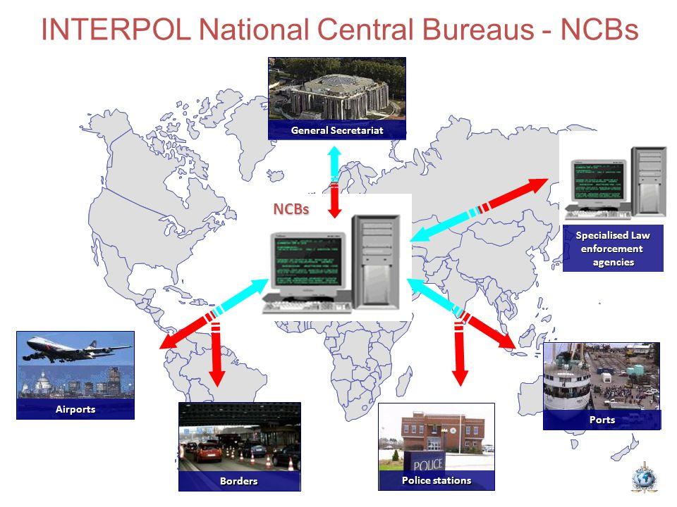 INTERPOL National Central Bureaus - NCBs