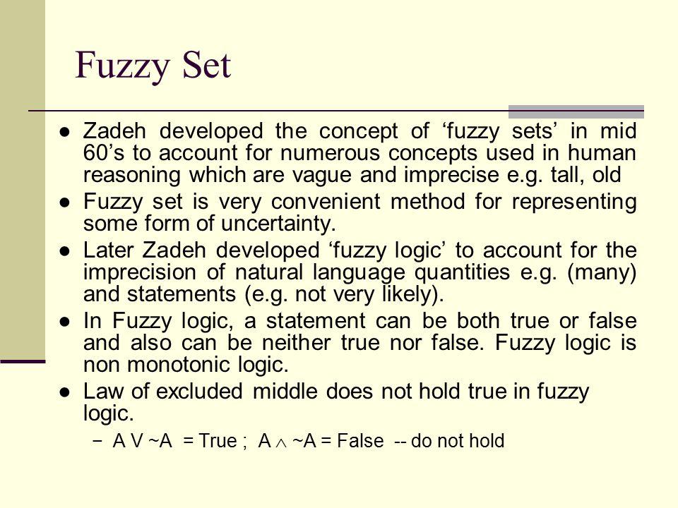 Fuzzy Set