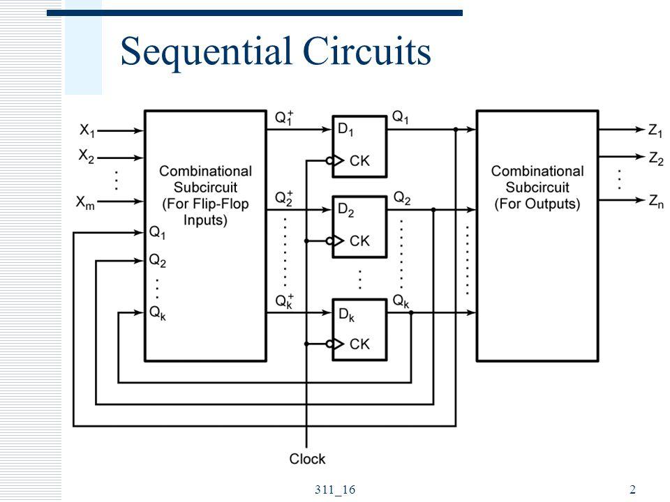 Sequential Circuits 311_16 ELEC 311