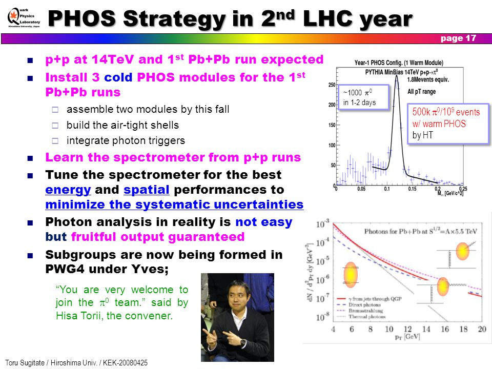 PHOS Strategy in 2nd LHC year
