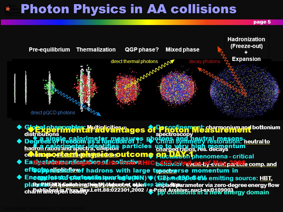 Photon Physics in AA collisions