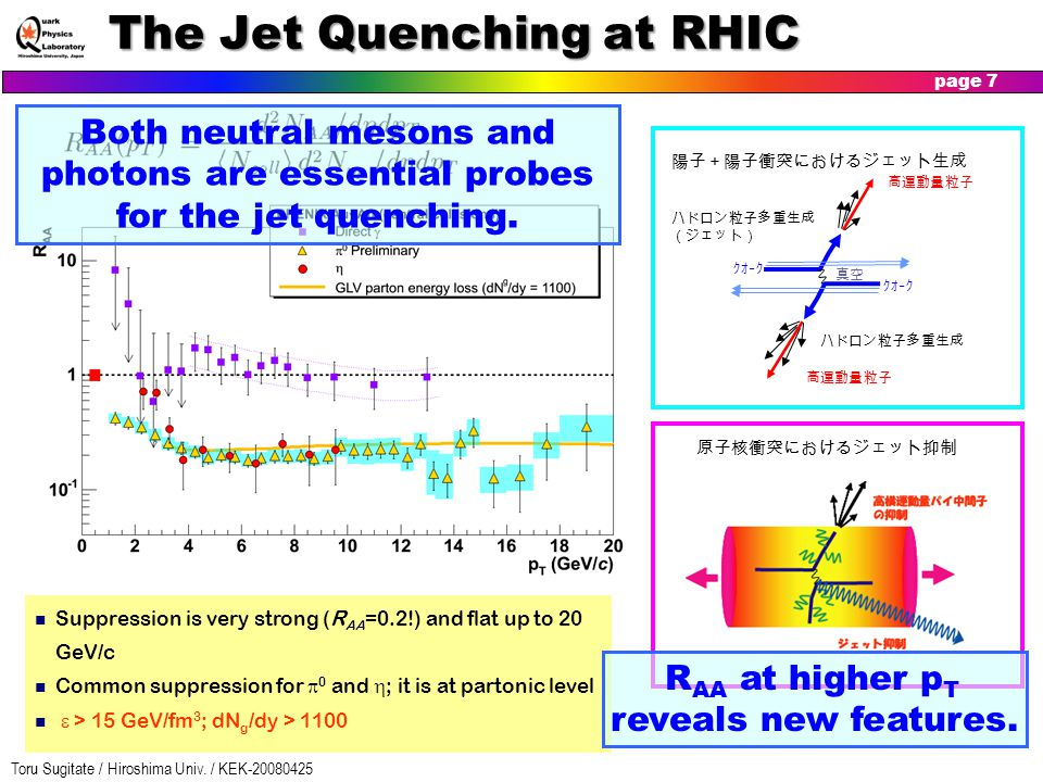 The Jet Quenching at RHIC