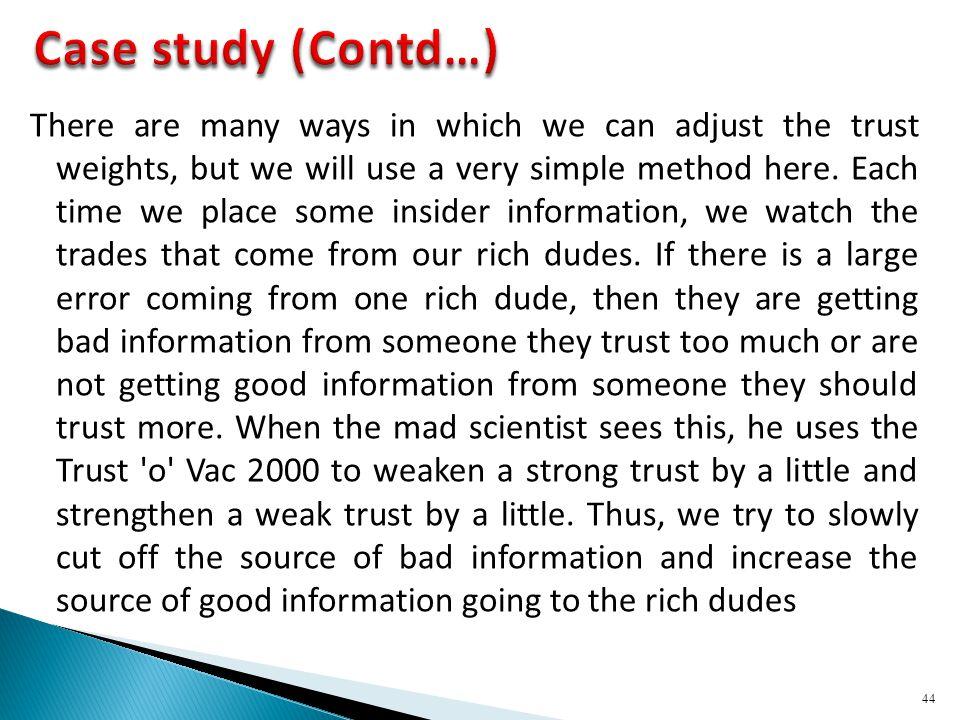 Case study (Contd…)