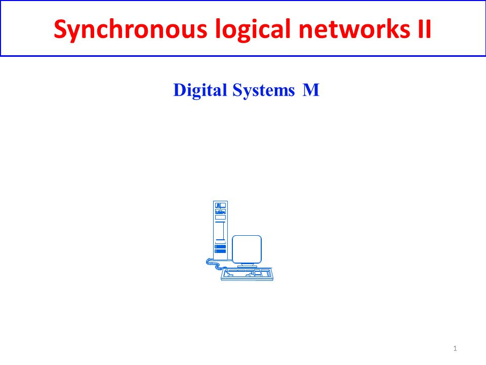 Synchronous logical networks II