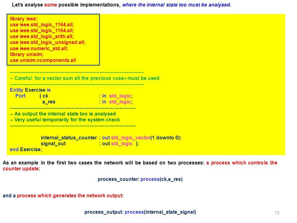 use ieee.std_logic_1164.all; use ieee.std_logic_arith.all;