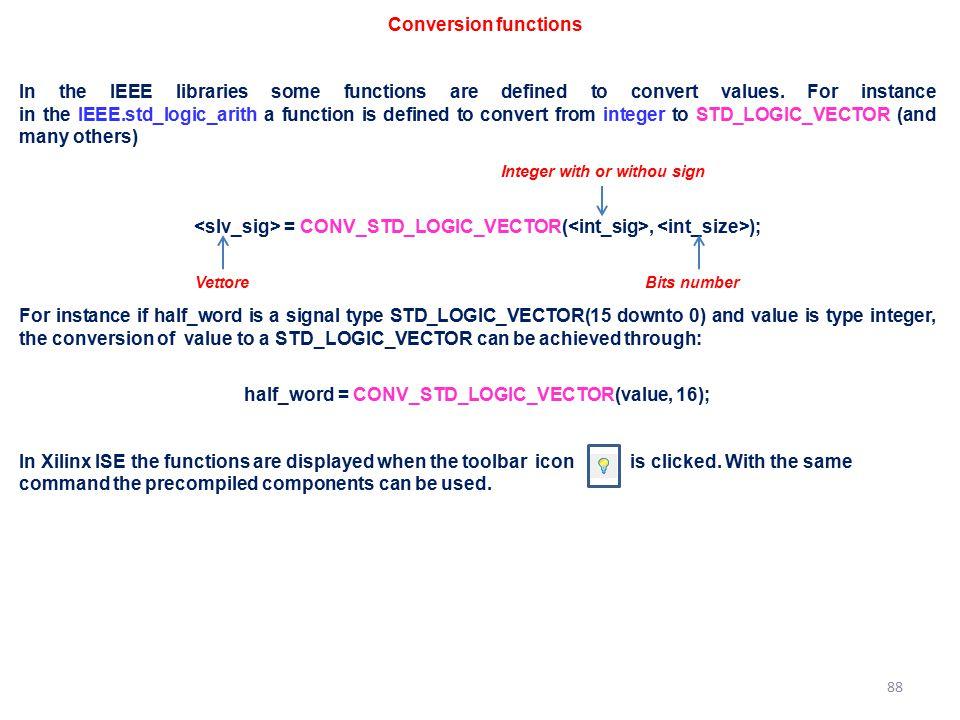 half_word = CONV_STD_LOGIC_VECTOR(value, 16);