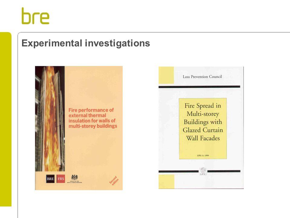 Experimental investigations