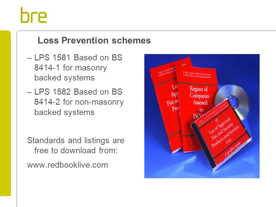 Loss Prevention schemes