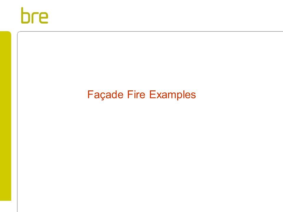 Façade Fire Examples