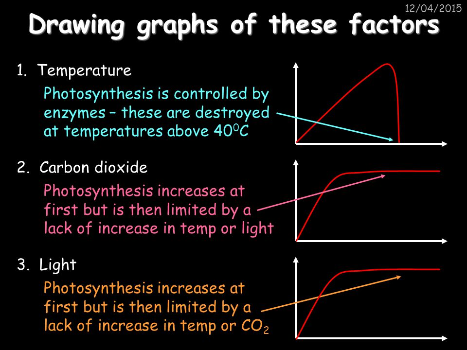 Drawing graphs of these factors