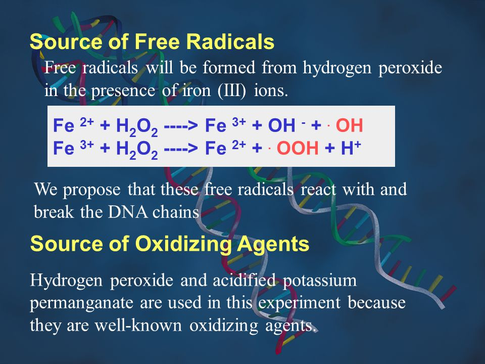 Source of Free Radicals