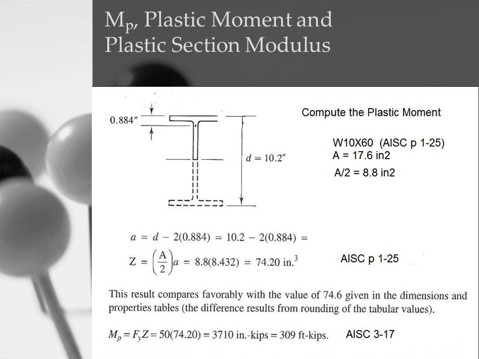 Mp, Plastic Moment and Plastic Section Modulus