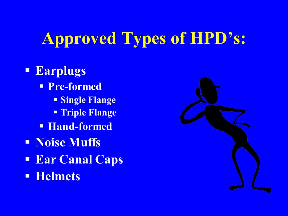 Approved Types of HPD's: