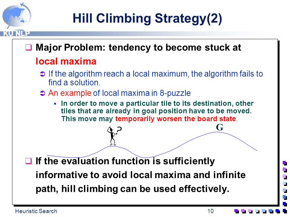 Hill Climbing Strategy(2)