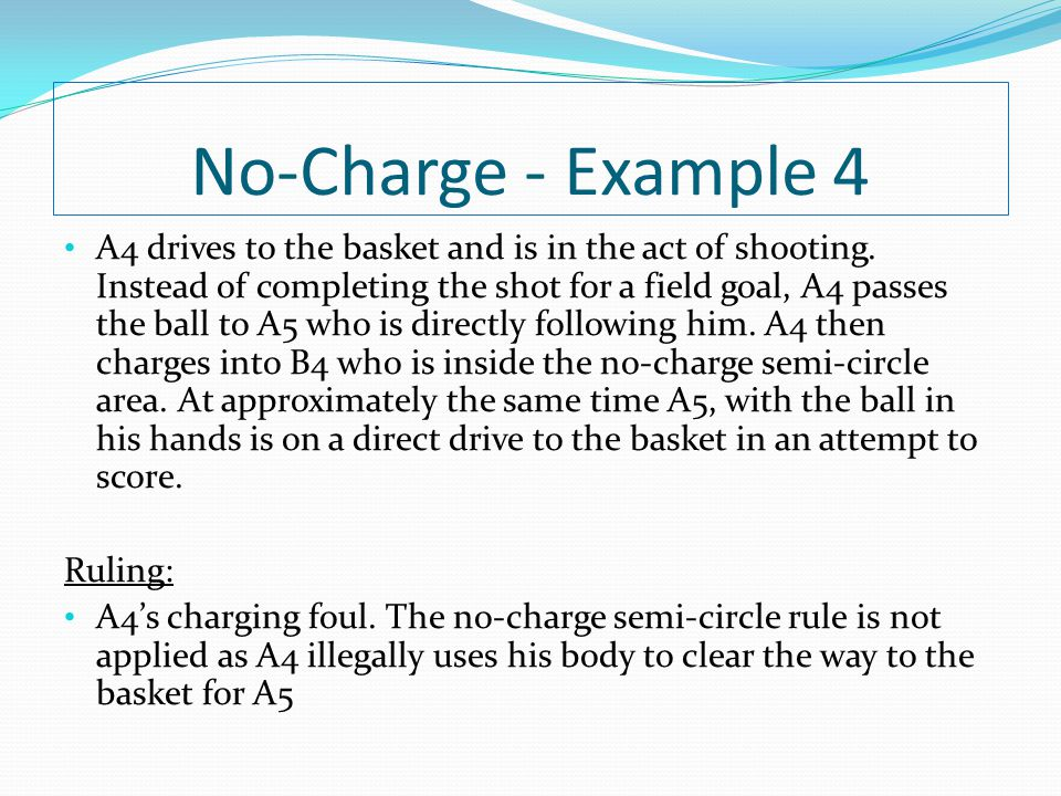 No-Charge - Example 4