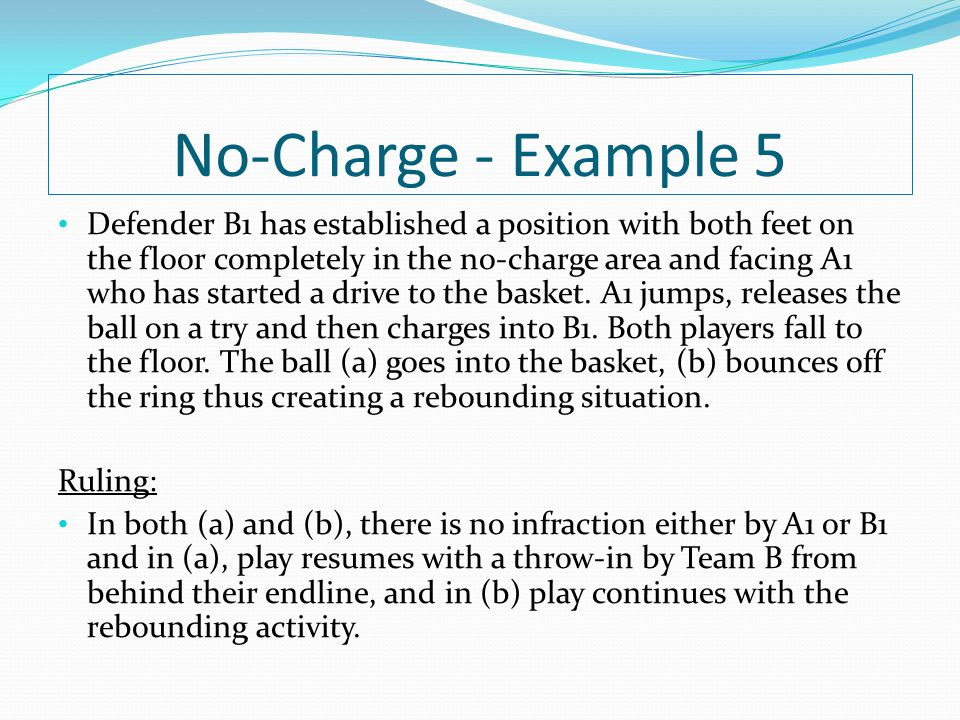 No-Charge - Example 5