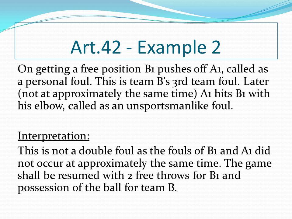 Art.42 - Example 2