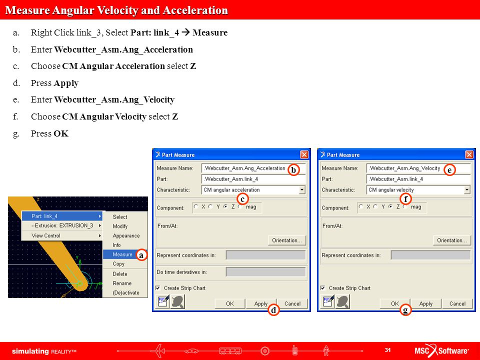 Measure Angular Velocity and Acceleration