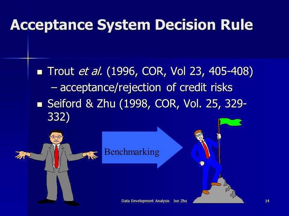 Acceptance System Decision Rule