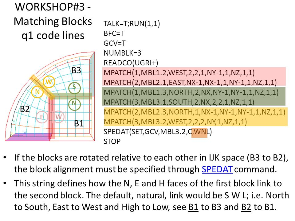 WORKSHOP#3 - Matching Blocks q1 code lines