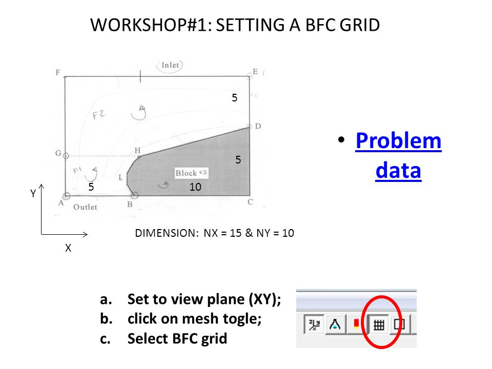 WORKSHOP#1: SETTING A BFC GRID