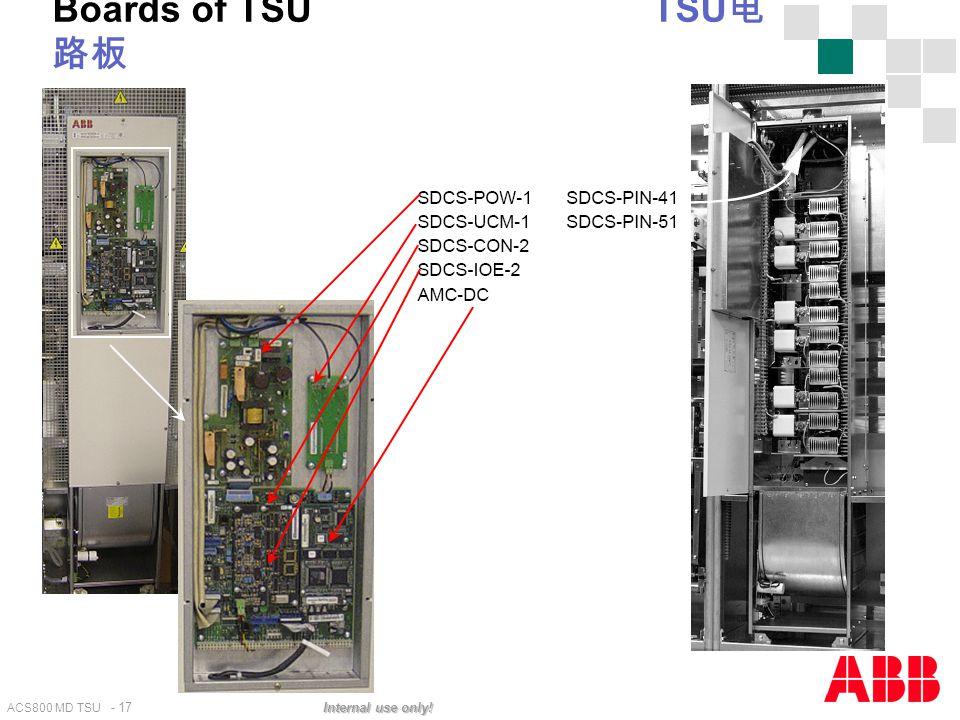 Boards of TSU TSU电路板