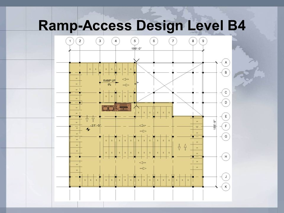 Ramp-Access Design Level B4